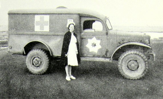 image of hospital ambulance