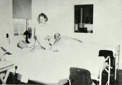 image of convalescent ward