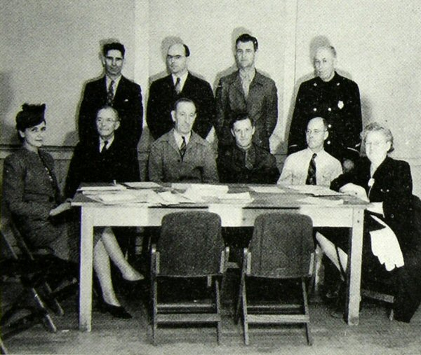 council in 1945