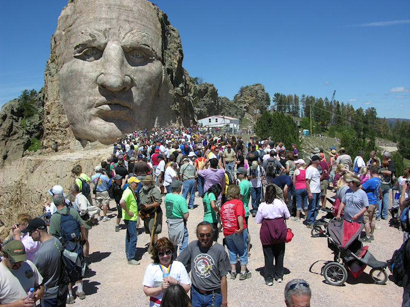 Crazy Horse Volksmarch