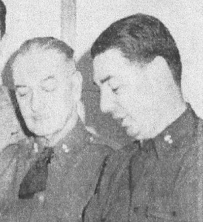 Col. Newhall and Lt. Col. Byram
