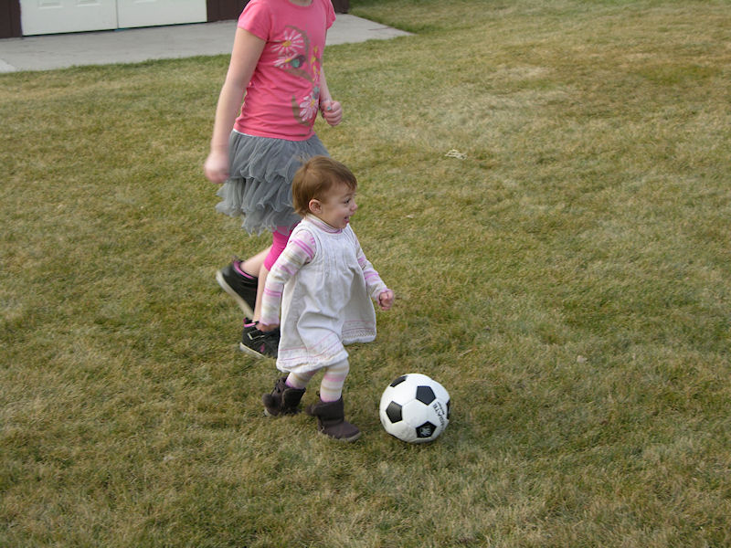 Hope and Soccer ball